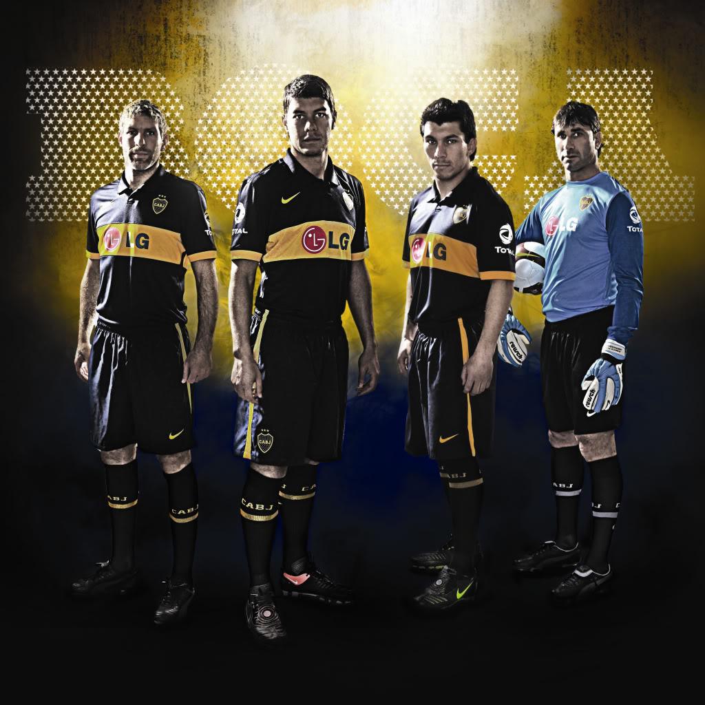 Nuevo uniforme Boca Juniors 09/10