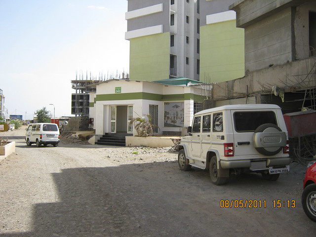 Site office of Belvalkar Housing in Solacia - Bungalows, Row Houses, Twin Bungalows, Flats - Wagholi