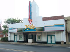 Ritz theatre, Greenville, Alabama (M Floyd) Tags: street old city morning vacation buildings spring downtown neon south alabama historic ritz roadside boxoffice greenville theatres ticketbooth marquees