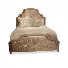 "4094 HOLLYWOOD GLAM BED IN TAUPE • <a style=""font-size:0.8em;"" href=""http://www.flickr.com/photos/43749930@N04/5743617817/"" target=""_blank"">View on Flickr</a>"