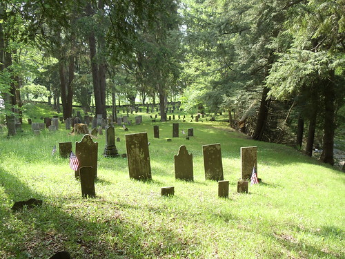 Prentiss Cemetery in Gilbertsville, New York by JuneNY