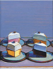 Wayne Thiebaud, Meringue Mix, 1999, Sold for $701,900 at Christie's November 11 2004