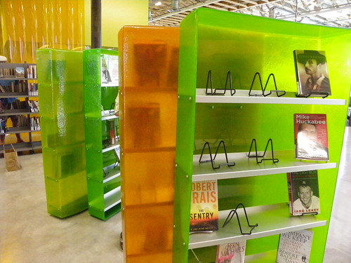 Resin shelving - Agave Library