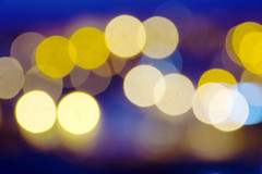 Noche en la ciudad (Mimadeo) Tags: street city light urban abstract blur color texture yellow night circle lights shiny pattern glow bright bokeh streetlights background blurred illuminated round glowing nightlife confusion defocused circleofconfusion