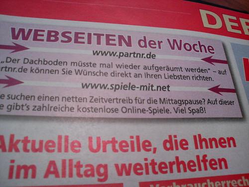 Website der Woche: partnr.de