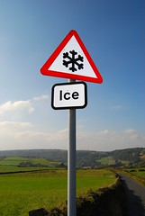 Ice (Tim Green aka atoach) Tags: ice sign warning bradford yorkshire queensbury