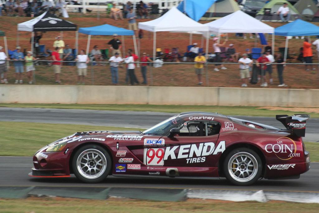 Jeff Courtney Kenda Tires Dodge Viper