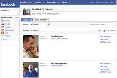 Informele referenties navragen via sites als Facebook