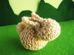 knitted bunny (ccyytt) Tags: brown bunny animal toy stuffed knitting handmade crafts knit mini yarn softie