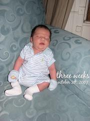jack at three weeks