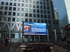 Canary Wharf TV