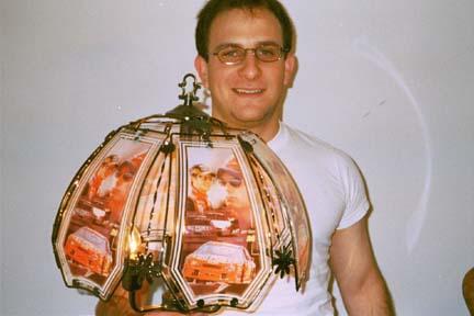 jeff gordon lamp