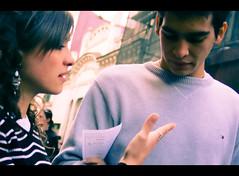 Urban Moments. Teens Talking