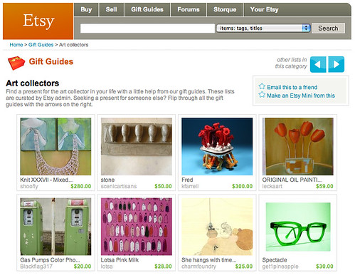 Etsy Gift Guide Feature
