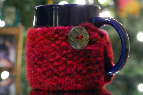 Seed Stitch Mug Cosy