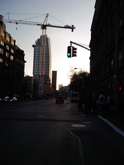 Cooper Square Hotel with Crane