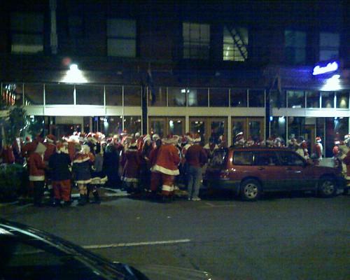 Santas Invade Stark Street
