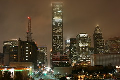 Downtown Houston at Night from UHD (J-a-x) Tags: city urban usa college skyline architecture night buildings university downtown texas skyscrapers houston uhd jpmorganchasetower universityofhoustondowntown