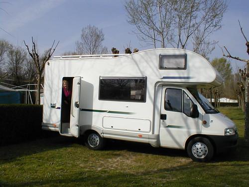 Camping de Haro, Spain 2003