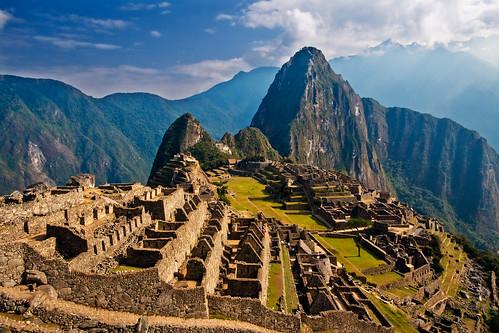 Ruinas de Machu Picchu, Perú