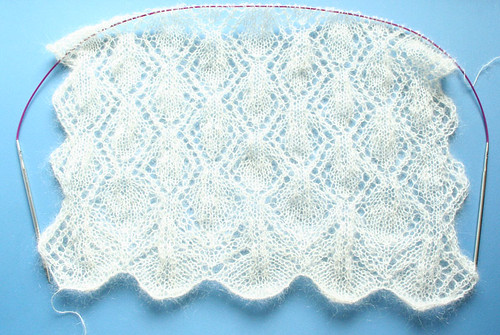 Wedding Shawl: The Start
