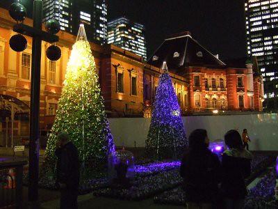 Chrismas illuminations 2007 @ Tokyo Station