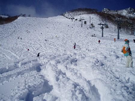 Much Snow on Naeba Resort