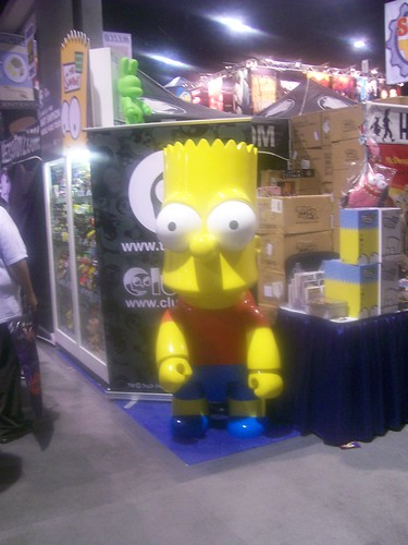 Oversized Bart Figurine