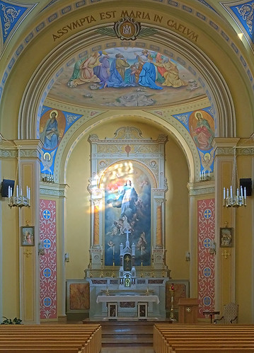 Saint Mary of the Barrens Roman Catholic Church, in Perryville, Missouri, USA - sanctuary