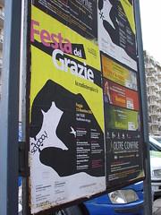 FOGGIA (tnx for foto) (SATOBOY SOCIAL VANDALISM NETWORK ACTIVISM GUERRILL) Tags: street new urban streetart art stickerart italia social pop vandalism network activism unconventional guerrillaart surrelism stickerguerrilla artenonconvenzionale