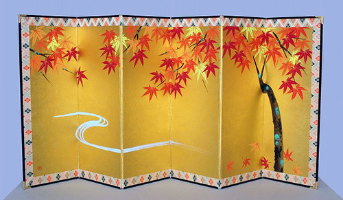 Japanese decorative screen