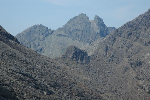 Sgurr Alisdar and Caisteal a'Garbh-choire (foreground)