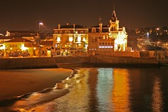 Cascais Bay at night (Fr Antunes) Tags: portugal canon eos harbour explore porto february fr cascais fevereiro longaexposio docas antunes 400d platinumphoto anawesomeshot ilustrarportugal srieouro frantunes