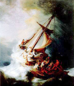Rembrandt's The Storm on the Sea of Galilee
