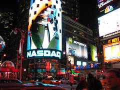 NASDAQ Times Square by aa440, on Flickr
