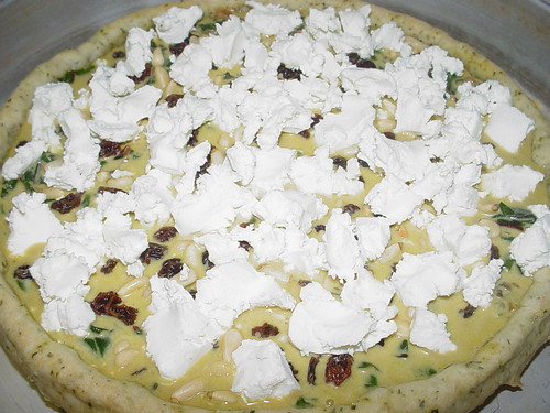 VDP: Swiss Chard, Shallot and Goat Cheese Tart | Oven-Dried Tomatoes