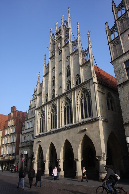 town hall, münster