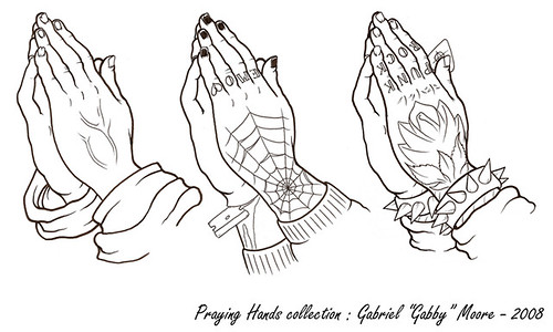 Tattoo Designs Praying Hands