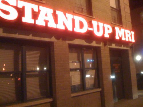 Stand-Up MRI