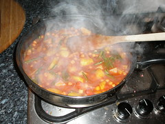 Simmer slowly and steamily