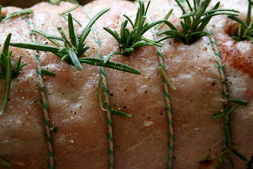 Easter lamb with rosemary