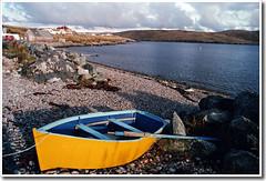 Yellow boat, Shetland (Theresa Elvin) Tags: sea yellow scotland boat shetland smörgåsbord spiritualshetland
