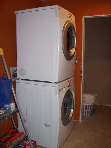 Our new washer/dryer stack