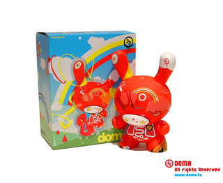 Red Dunny // Vinyl Doll
