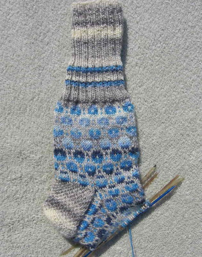 Tiit's Socks in progress