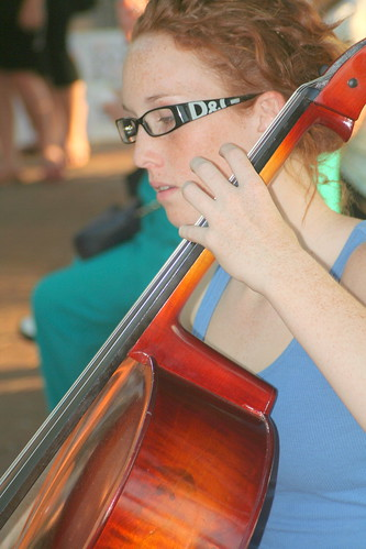 Cellist Mindil Beach Market