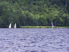 Laser race on Lake Waterford (Muffyvt) Tags: xmas chihuahua vermont montreal maine scuba maltese vi lakewaterford