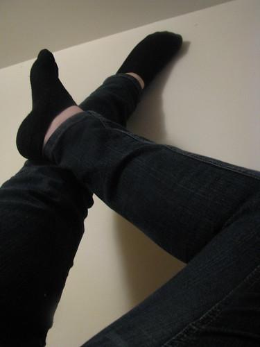 Flickriver: Random photos from Girls wearing black socks pool