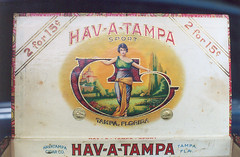 tampa cigar box, hav-a-tampa (chrysler383) Tags: tampa smoking labelart cigarbox cigargirl havatampa cigarboxart