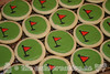 Golf Themed Sugar Cookies
